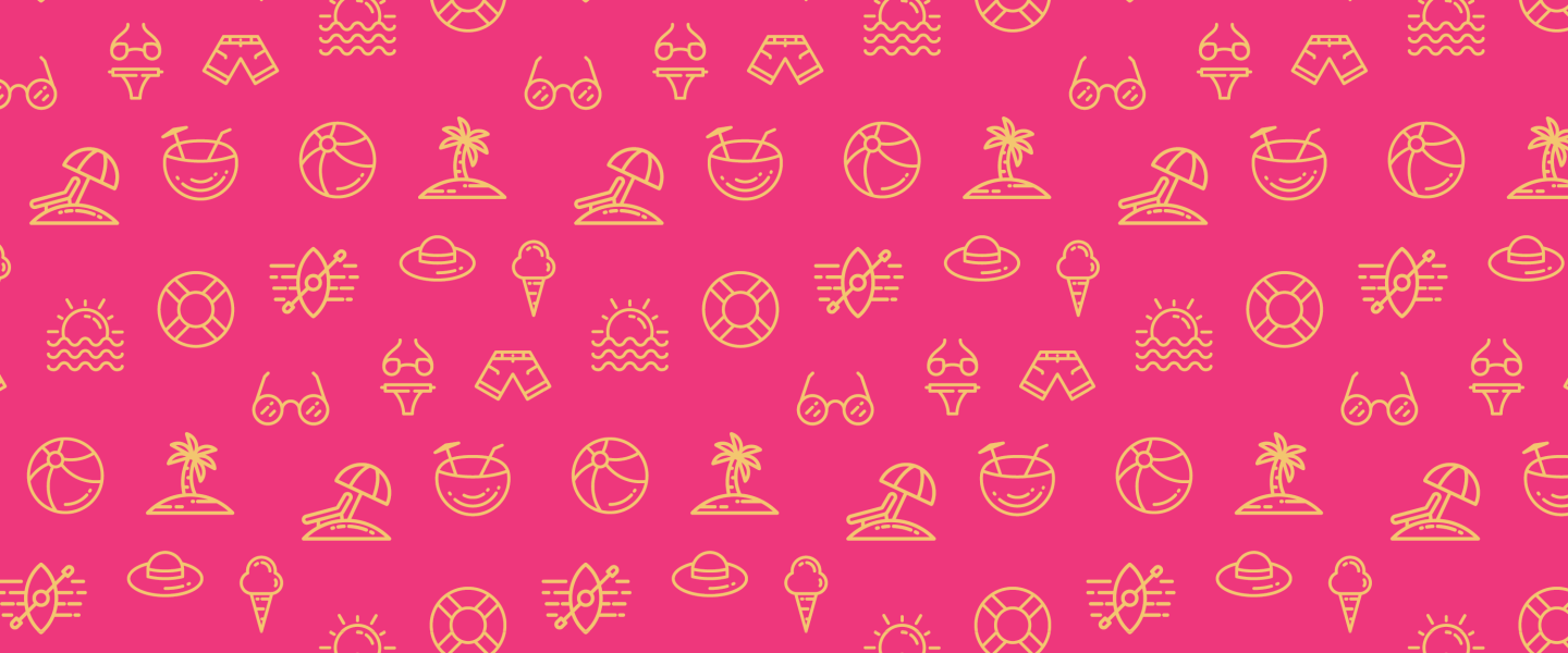 Summer-themed icons