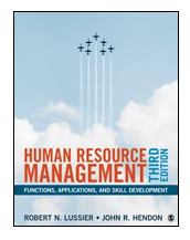 Image of front cover of the Human Resources textbook